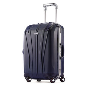 "Samsonite Outline Sphere 2 Hardside 21"" Spinner in the color Blue."