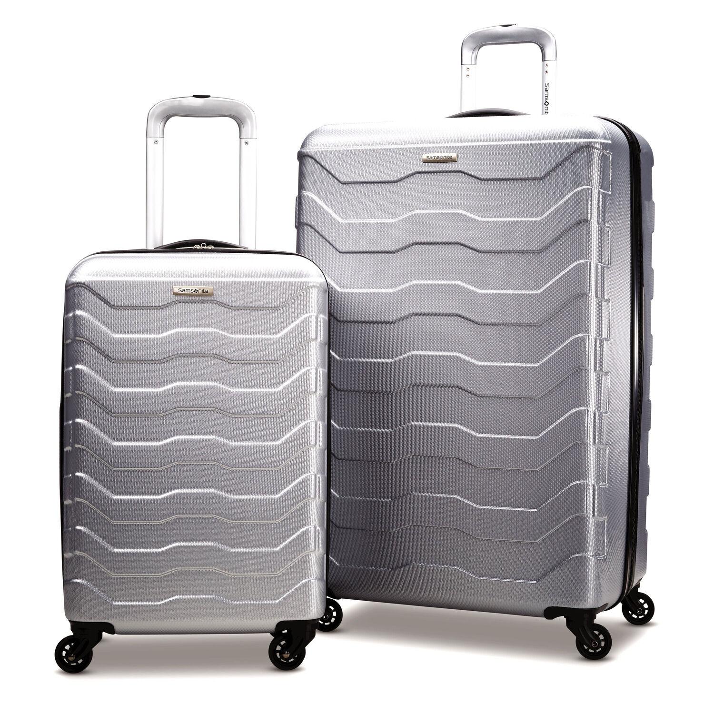颜值高!结实耐用!Samsonite新秀丽万向轮行李箱2件套热卖!