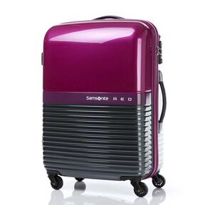 "Samsonite Red Robo 24"" Spinner in the color Purple/Grey."