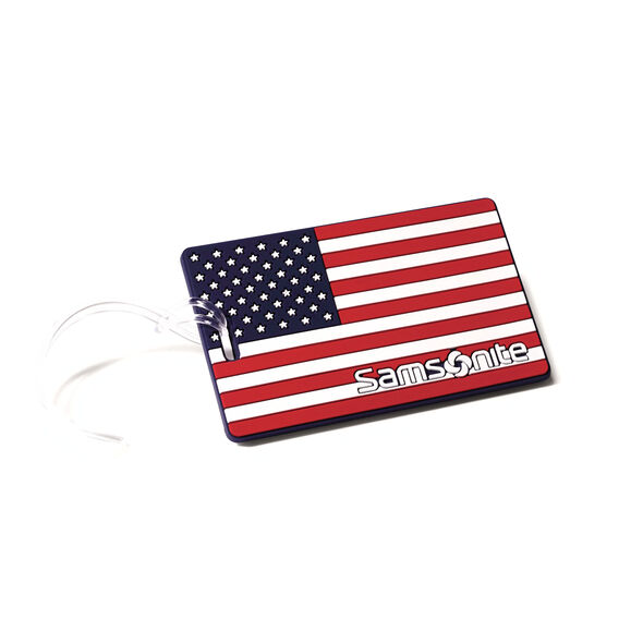 Samsonite Designer ID Tags in the color American Flag.
