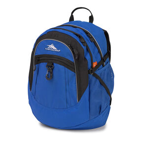 High Sierra Fat Boy Backpack in the color Vivid Blue/ Black.