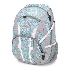 High Sierra Composite Backpack in the color Mint Leopard.