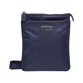 Lipault Original Plume Large Cross Body in the color Navy.
