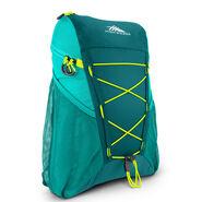 High Sierra Pack-N-Go 2 18L Sport Backpack in the color Sea/Tropic Teal/Zest.