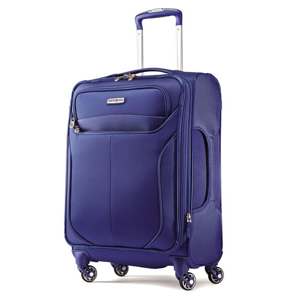 "Samsonite Lift2 21"" Spinner in the color Blue."