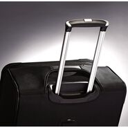"American Tourister XLT 25"" Spinner in the color Black."