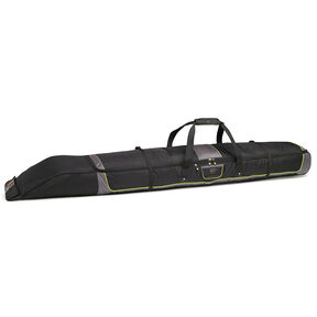 High Sierra Single Adjustable Ski Bag in the color Black/Charcoal/Chartreuse.