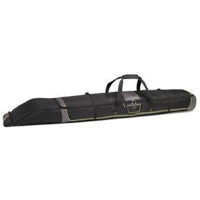 High Sierra Single Adjustable Ski Bag in the color Black/Charcoal/Chartreuse.
