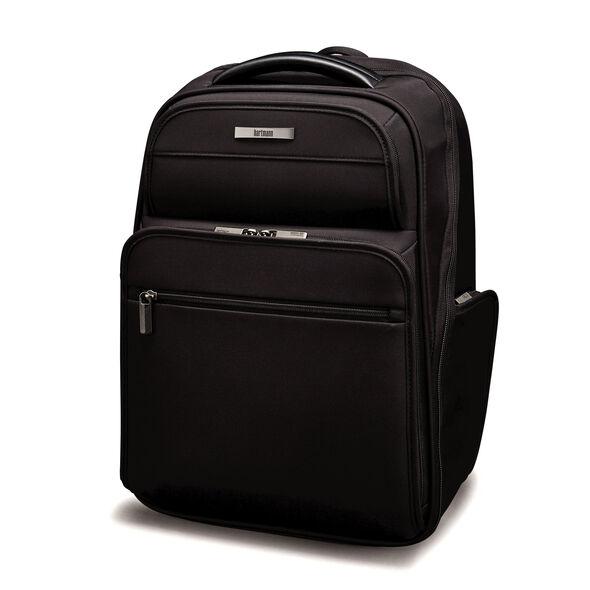 Hartmann Metropolitan Executive Backpack in the color Deep Black.