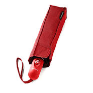 Samsonite Windguard Auto Open/Close Umbrella in the color Red.