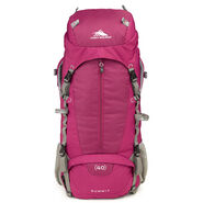 High Sierra Classic 2 Series Summit 40W Frame Pack in the color Boysenberry/Ash.