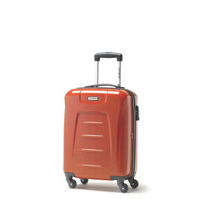 Samsonite Winfield 3 Fashion Spinner Carry-On Widebody in the color Orange Brushed.