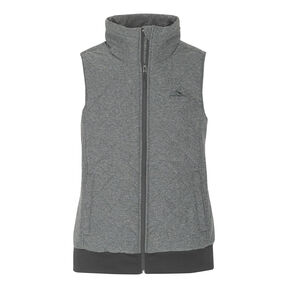 High Sierra Women's Lynn Insulated Vest in the color Mercury.