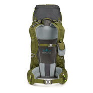 High Sierra Tech 2 Series Hawk 50 Frame Pack in the color Moss/Mercury/Chartreuse.