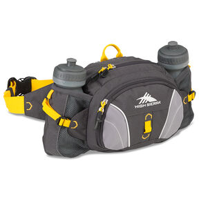 High Sierra Classic 2 Series Express Lumbar Pack in the color Mercury/Ash/Yellow.