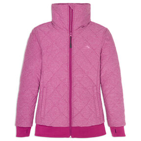 High Sierra Women's Lynn Insulated Full Zip Jacket in the color Razzmatazz.