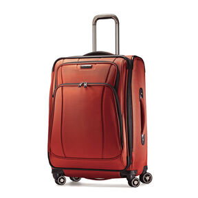 "Samsonite DK3 25"" Spinner in the color Orange Zest."