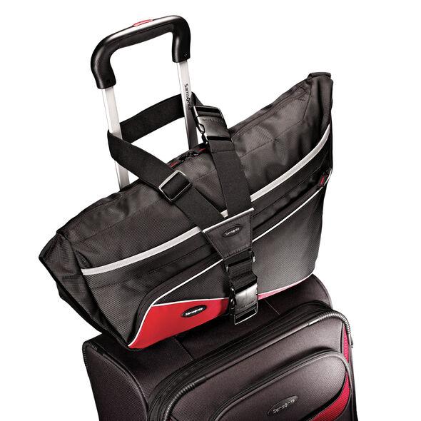 Samsonite Spinner Add-A-Bag Strap in the color Black.