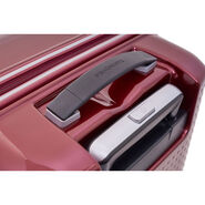 "Samsonite Pixelon 25"" Spinner in the color Ruby."