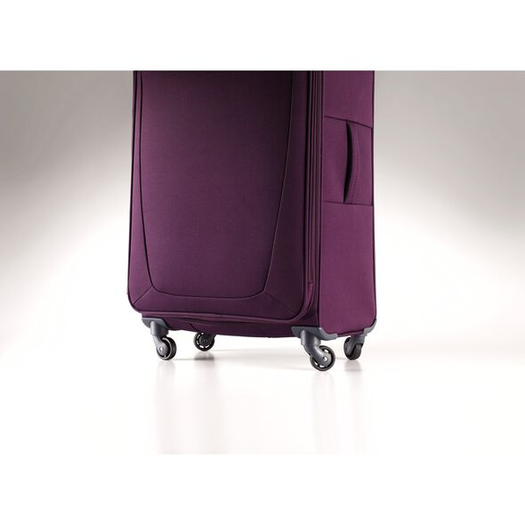Samsonite Base Hits Spinner Large in the color Purple.
