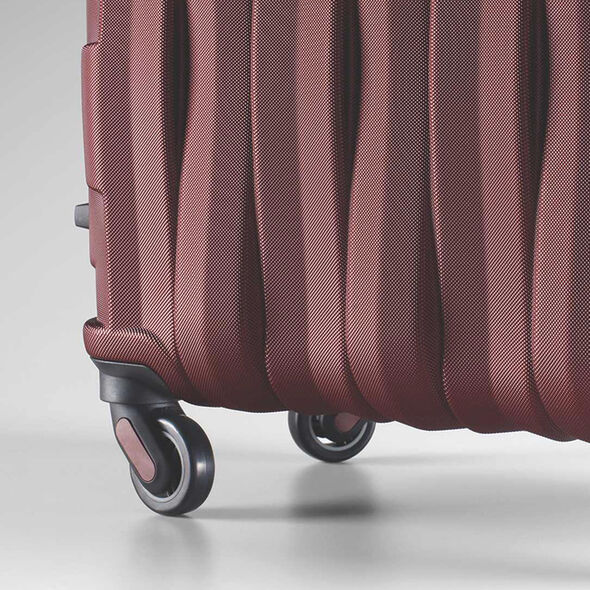 Samsonite Prestige 3D 3 Piece Set in the color Burgundy.