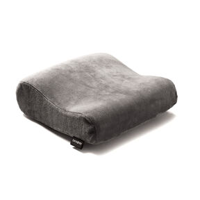 Samsonite Rectangle Memory Neck Pillow in the color Charcoal.