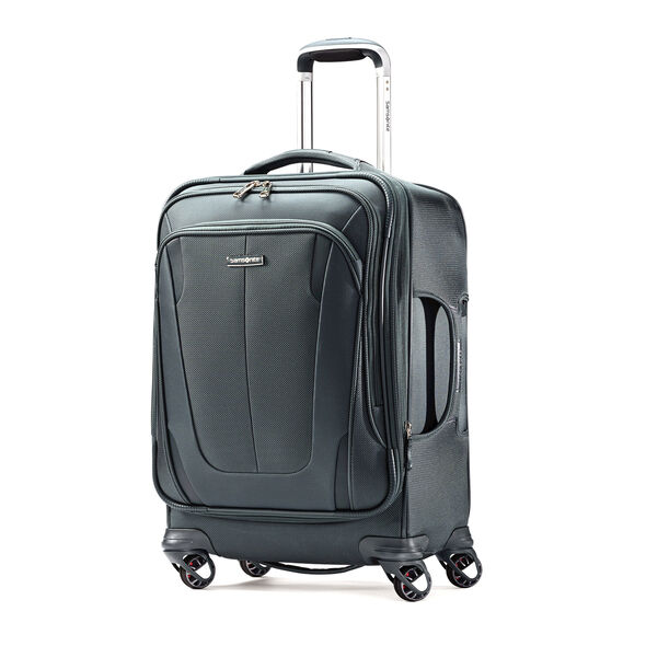 "Samsonite Silhouette Sphere 2 21"" Spinner in the color Cypress Green."