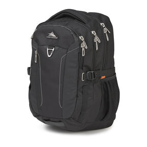 High Sierra Tephra Backpack in the color Black.