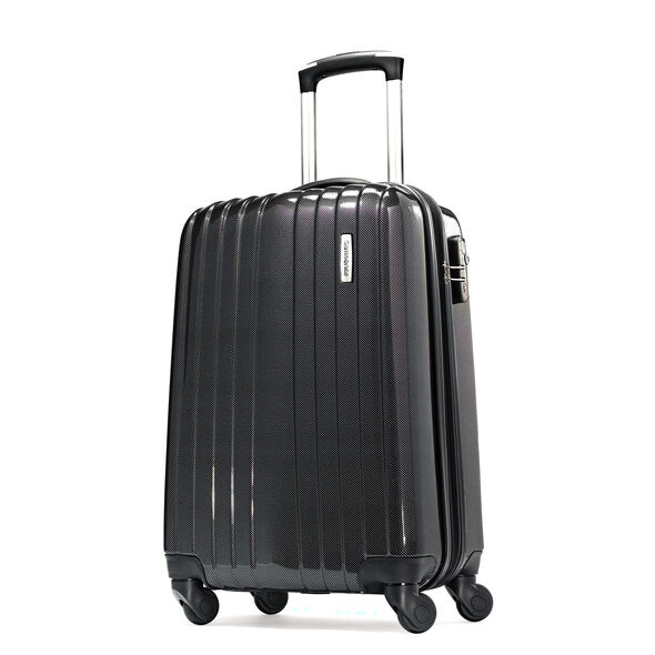 "Samsonite Carbon1 DLX 20"" Spinner in the color Silver - Exclusive."
