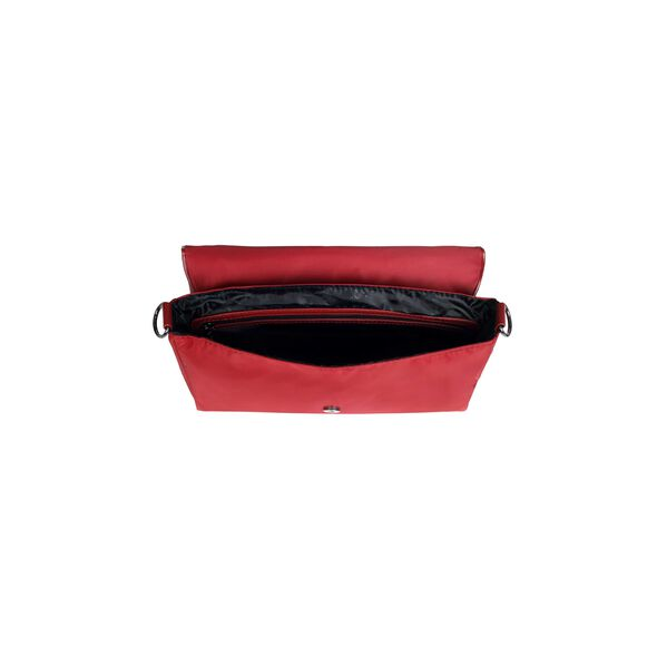 Lipault Lady Plume Clutch Bag M in the color Ruby.