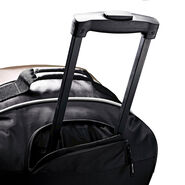 "Samsonite Andante 32"" Drop Bottom Wheeled Duffle in the color Black/Grey."