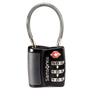 Samsonite 3 Dial Travel Sentry Cable Lock