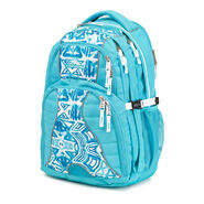 High Sierra Swerve Backpack in the color Teal Shibori.