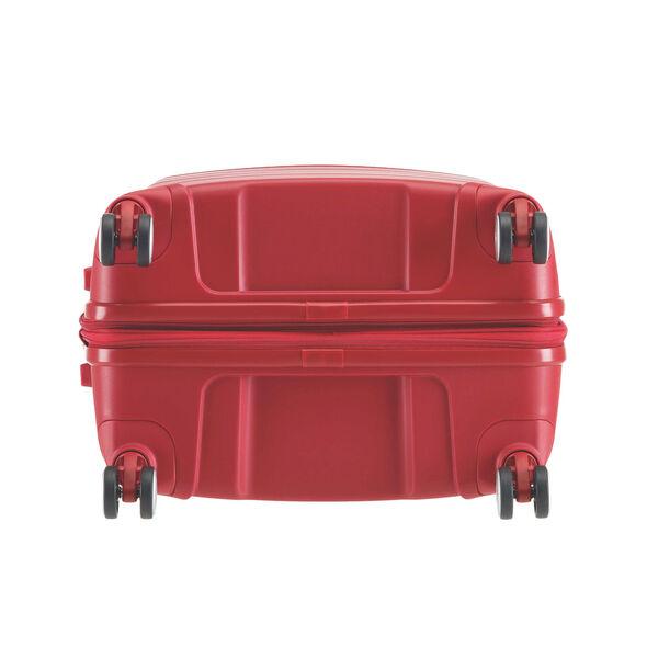 "Samsonite Freeform 24"" Spinner in the color Red."