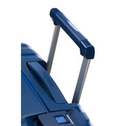 "American Tourister Lock-N-Roll 20"" Spinner in the color Nocturne Blue."