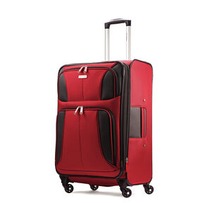 "Samsonite Aspire XLite 25"" Spinner in the color Red."