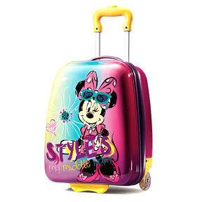 "American Tourister Disney 18"" Hardside Upright in the color Minnie Mouse."