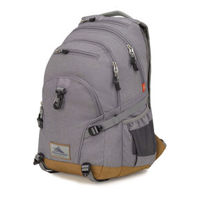 High Sierra Super Loop Backpack in the color Charcoal Heather/Charcoal.