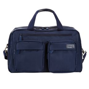 "Lipault Original Plume 19"" Weekend Bag in the color Navy."