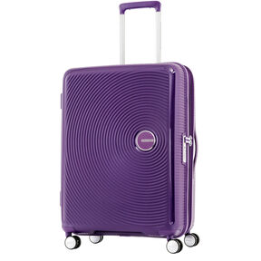American Tourister Curio Spinner Large in the color Purple.