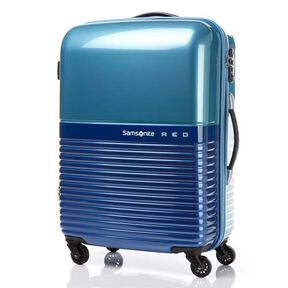 "Samsonite Red Robo 28"" Spinner in the color Blue/Light Blue."