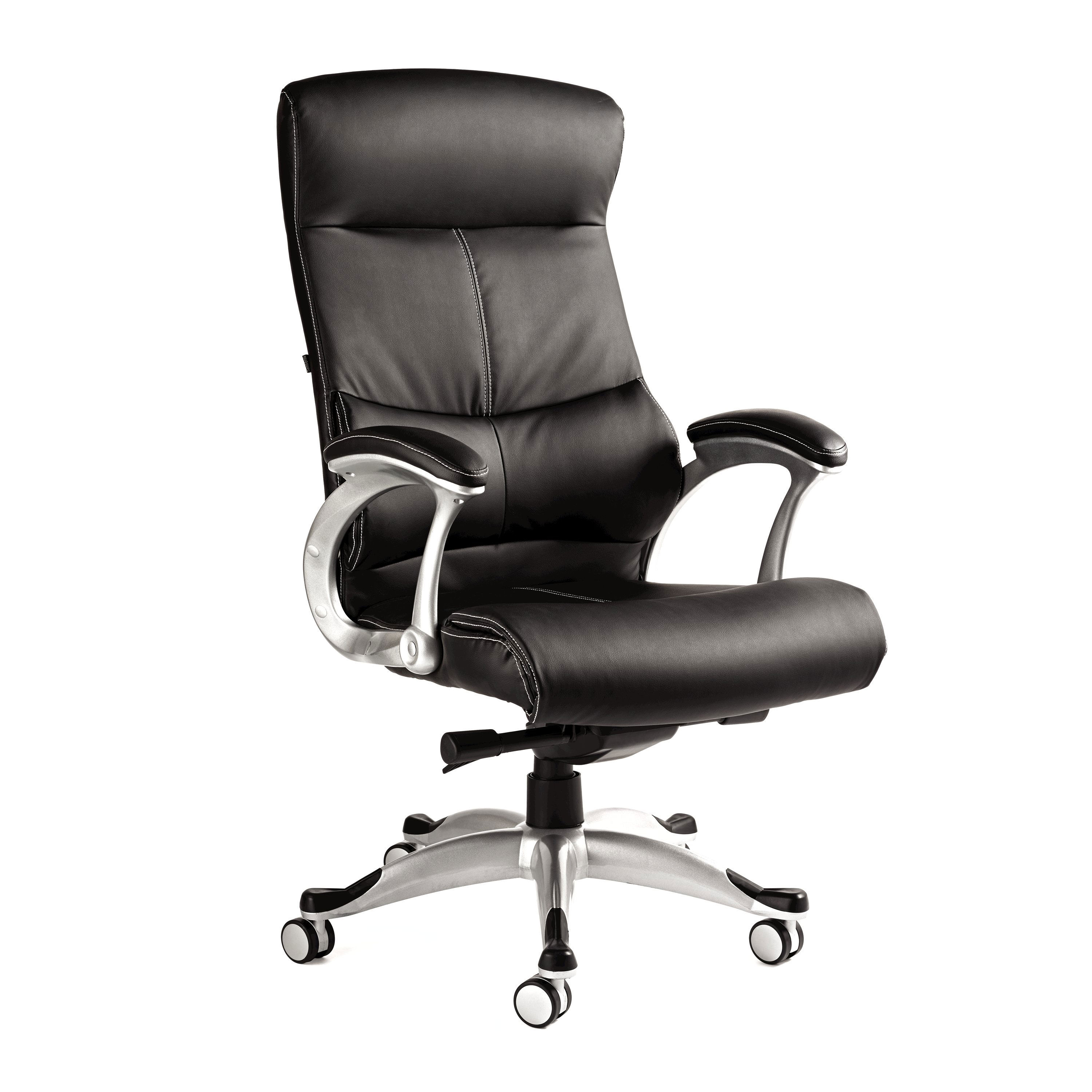 samsonite singapore premium bonded leather chair - Leather Office Chairs