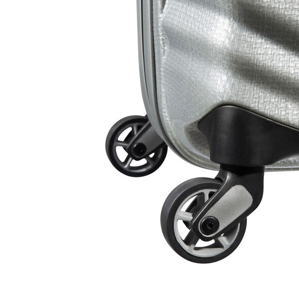 "Samsonite Black Label Lite-Shock 30"" Spinner in the color Silver."
