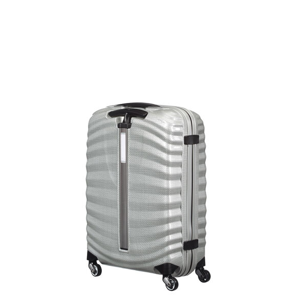 "Samsonite Black Label Lite-Shock 20"" Spinner in the color Silver."