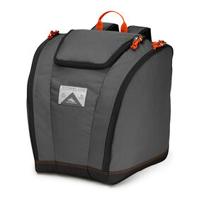 High Sierra Trapezoid Boot Bag in the color Mercury/Black/Redline.