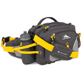 High Sierra Classic 2 Series Diplomat Waistpack in the color Mercury/Ash/Yellow.