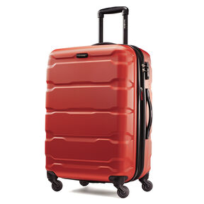 "Samsonite Omni PC 24"" Spinner in the color Burnt Orange."