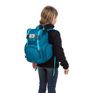 High Sierra Mini Emmett Backpack in the color Lagoon/Tropic Teal.