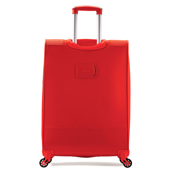 "American Tourister iLite Max 25"" Spinner in the color Tangerine."