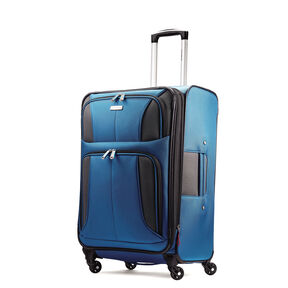"Samsonite Aspire XLite 25"" Spinner in the color Blue Dream."